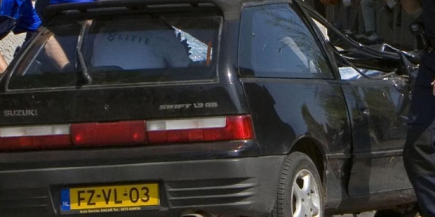 Foto van auto Karst T. na aanslag Apeldoorn | Eveline de Wil