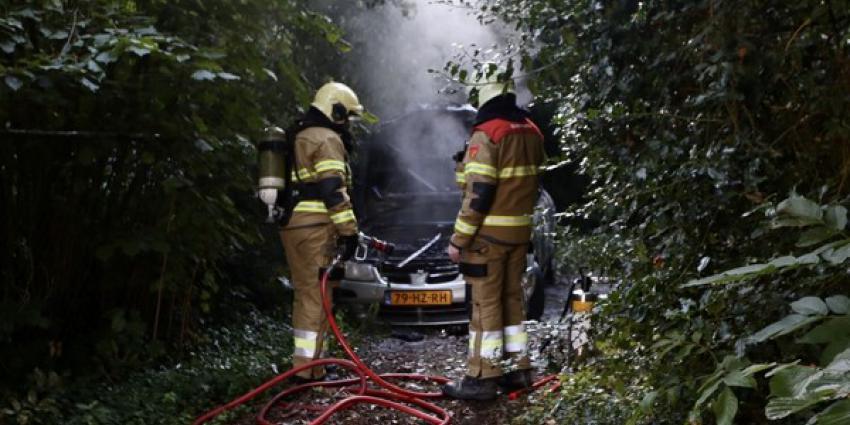 gestolen auto, uitgebrand