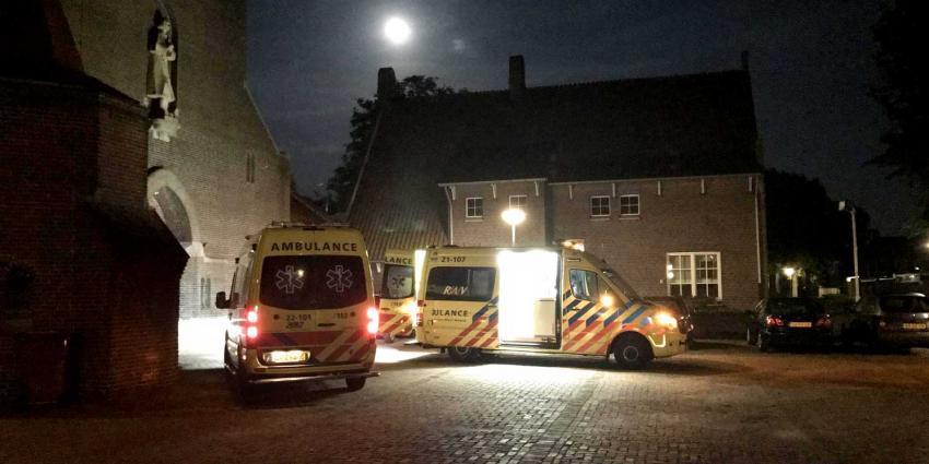 Man gewond na val van trap in voormalige pastorie Spoordonk