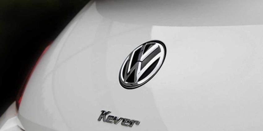 Kever logo op achterklep Beetle Cabriolet