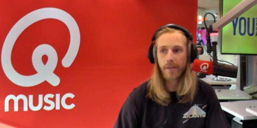 Qmusic DJ Stephan Bouwman is depressief