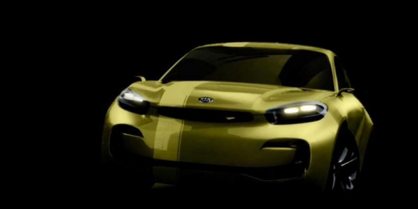 Onthulling nieuwe Kia CUB conceptcar in Seoul