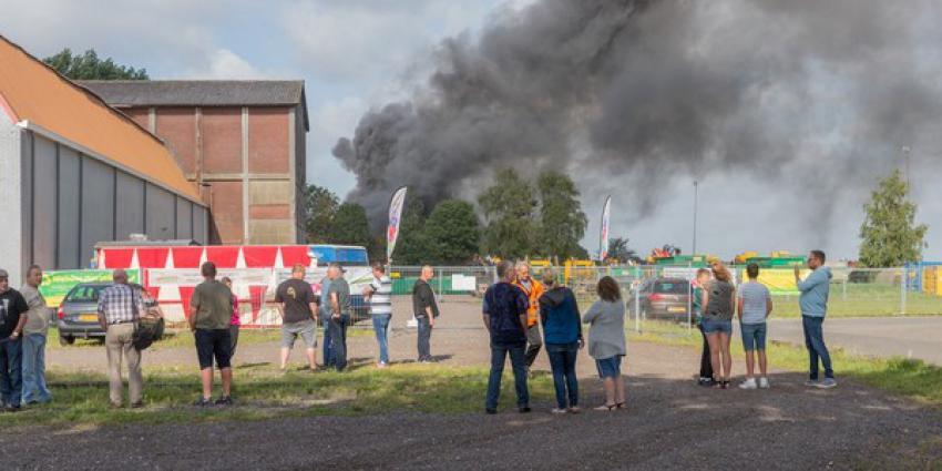 brand, loods, ryclingbedrijf, kiel-windeweer