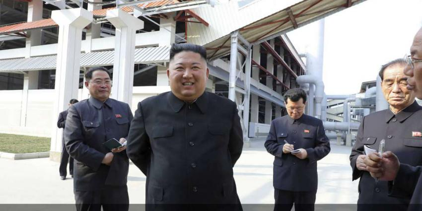 Kim Jong-un weer in het openbaar gezien
