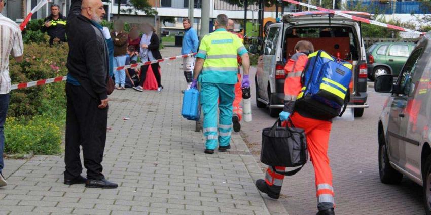 Kind op straat in Schiedam overleden