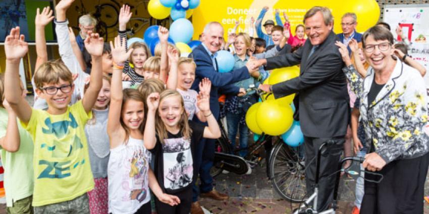 Al 2000 fietsen ingezameld voor kinderen in armoede