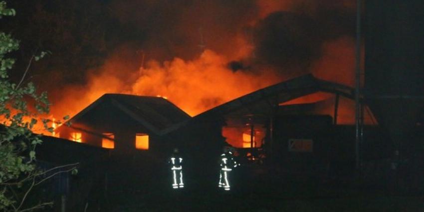 Duizenden kippen omgekomen bij grote brand Orvelte