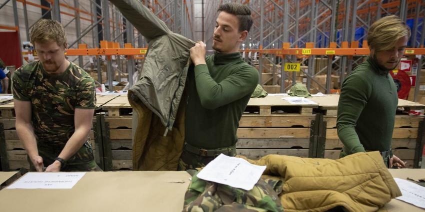 Winterkleding voor militairen in Noorwegen alsnog door Defensie geregeld
