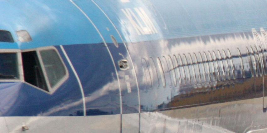 Man probeert tijdens KLM-vlucht cabinedeur te openen