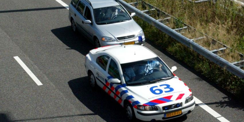 Snelwegpolitie terug op Nederlandse wegen