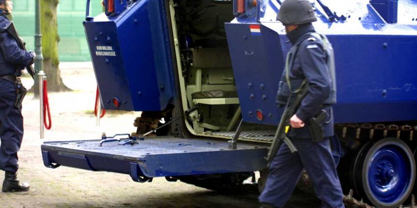 Waarschuwingsschot militair op Binnenhof was rechtmatig