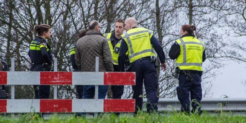 File na kop-staart aanrijding op afrit A20 bij Vlaardingen