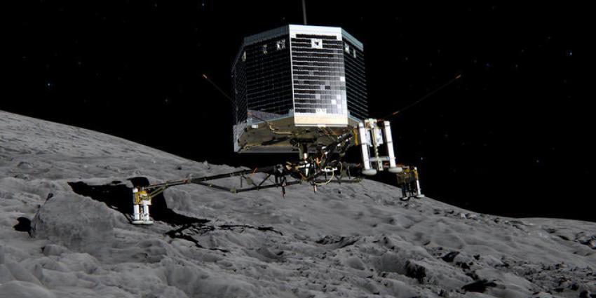 ESA wacht in spanning op signaal van komeetlander Philae