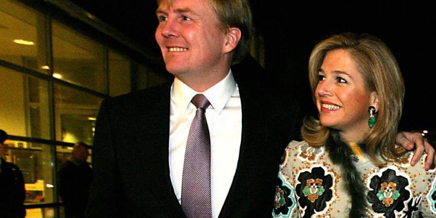 Foto van Willem-Alexander en Maxima   Archief EHF