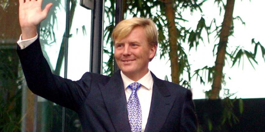 Koning Willem-Alexander bezoekt COC Nederland in Amsterdam