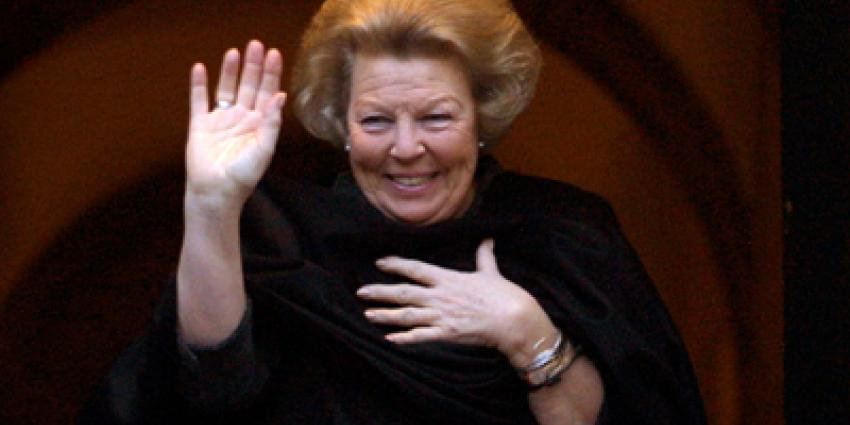 Foto van koningin Beatrix | Archief EHF