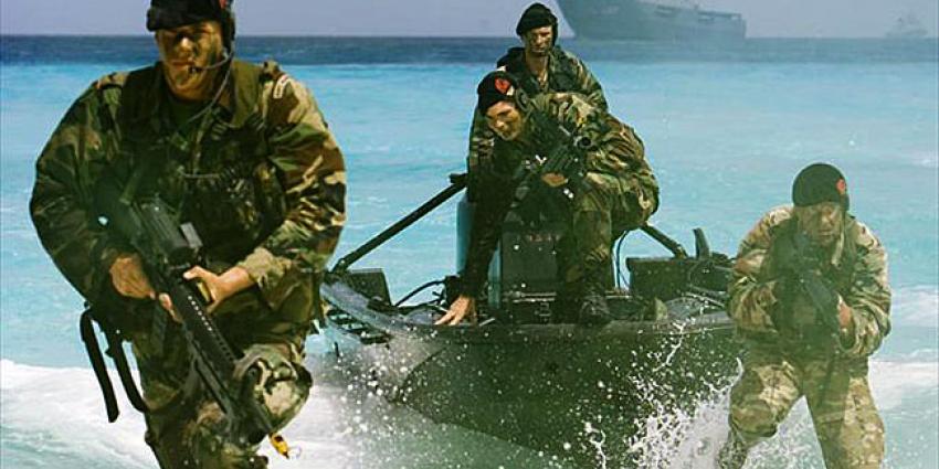Korps Mariniers viert vandaag haar 350ste bestaan