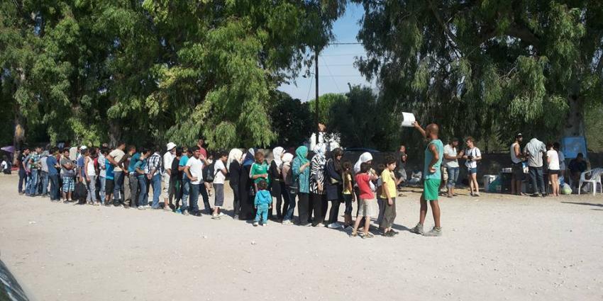 Chaos en wanhoop door de ogen van Annemarie Koevoet op het Griekse eiland Kos