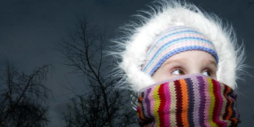 Code geel voor gladheid en gevoelstemperaturen tot -15