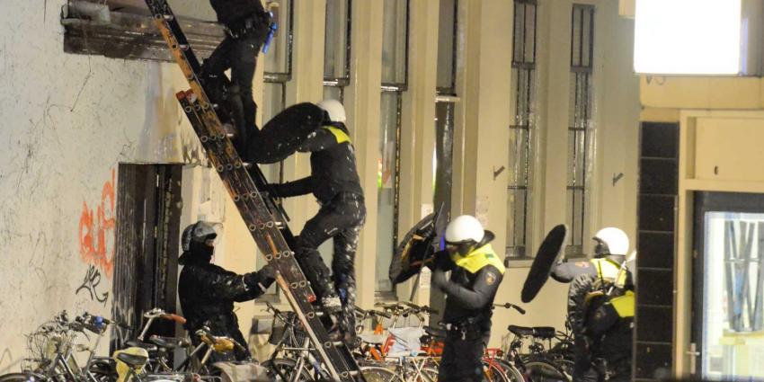 Krakersbolwerk Ubica Utrecht na 14 uur ontruimd