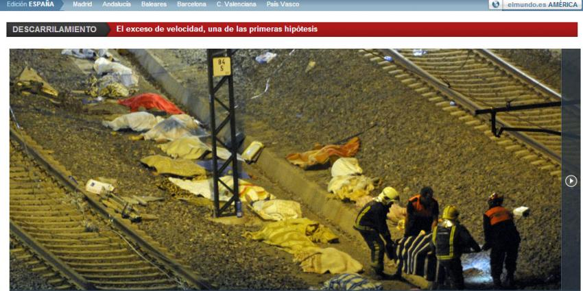 foto van treinramp Spanje   elmundo