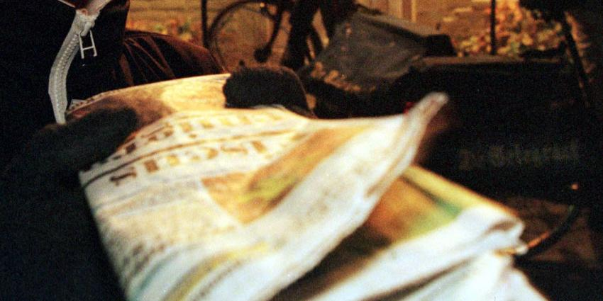 Krantenbezorger wordt op brute wijze overvallen in Zundert