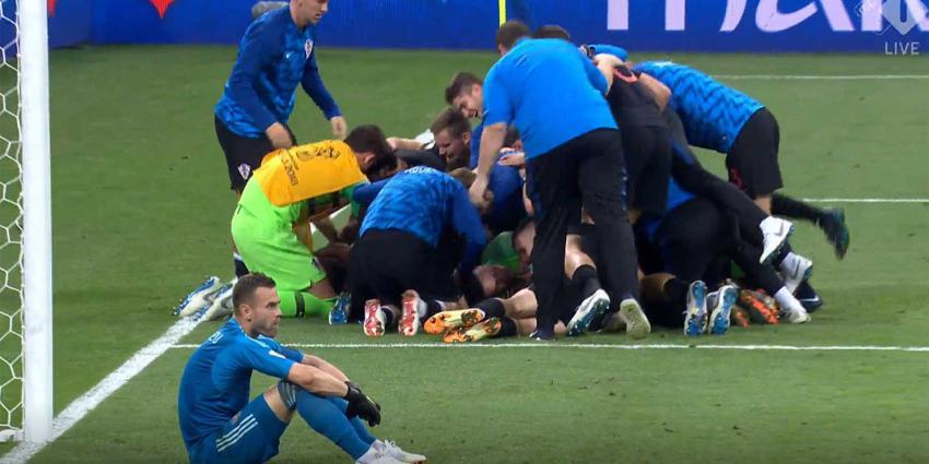 Kroatië wint 'strafschoppenthriller' van Rusland