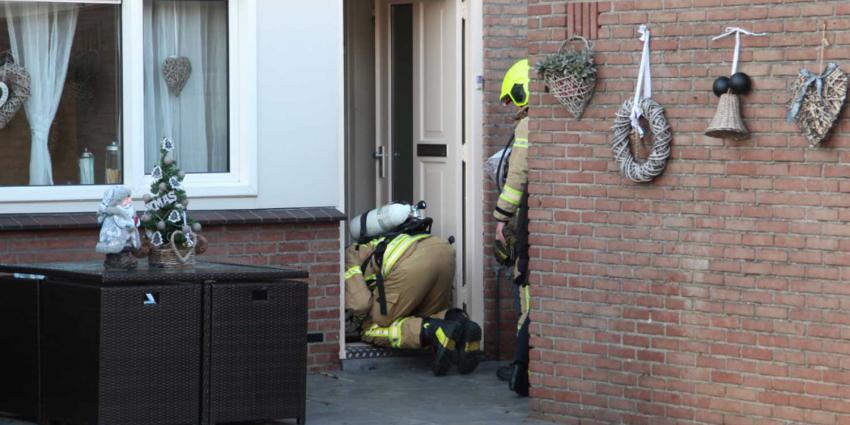 Gas in kruipruimte woningen Schiedam