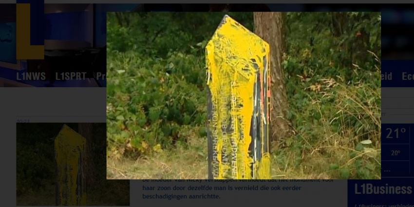 Foto van Monument vermoorde Nicky Verstappen   L1