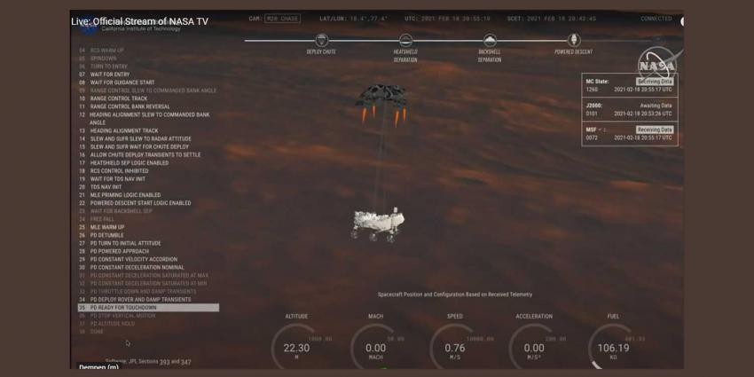 landing-robot-parachute-mars