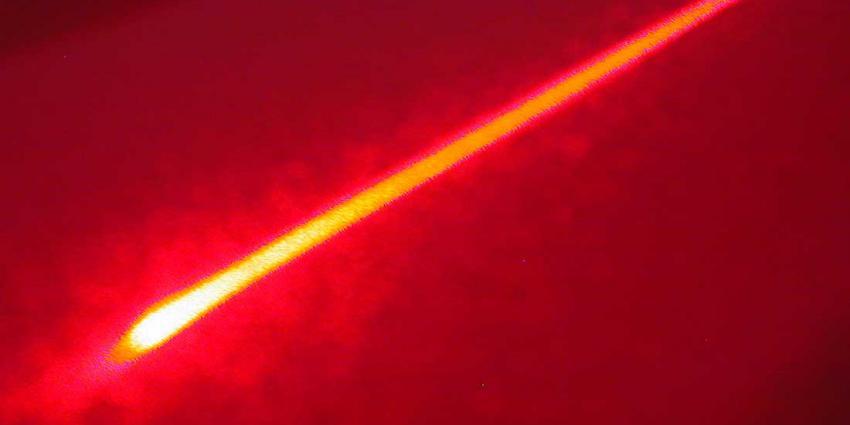 Politie verricht aanhoudingen op heterdaad na beschijnen politieheli met laserpen