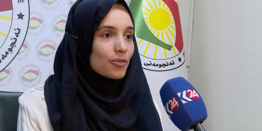 'Nederlandse vrouw ontsnapt aan IS'