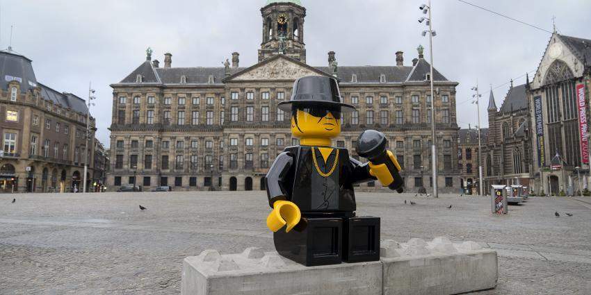 Lego Andre Hazes op de Dam