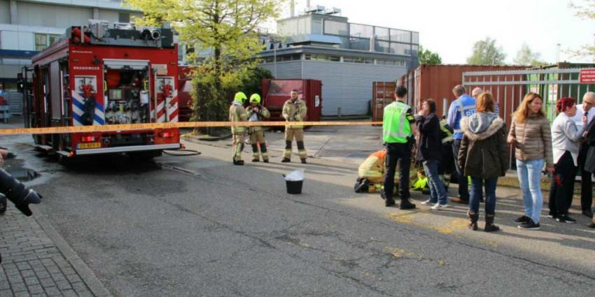 Nog drie slachtoffers in ziekenhuis na zuurlekkage