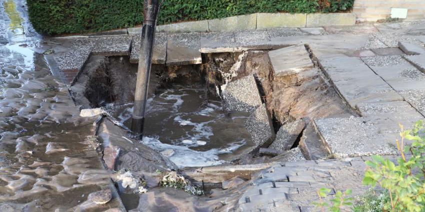 lekkage-waterleiding-sinkhole