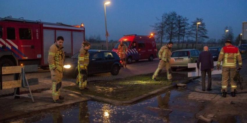 Brandweer Schiedam gealarmeerd voor waterlekkage