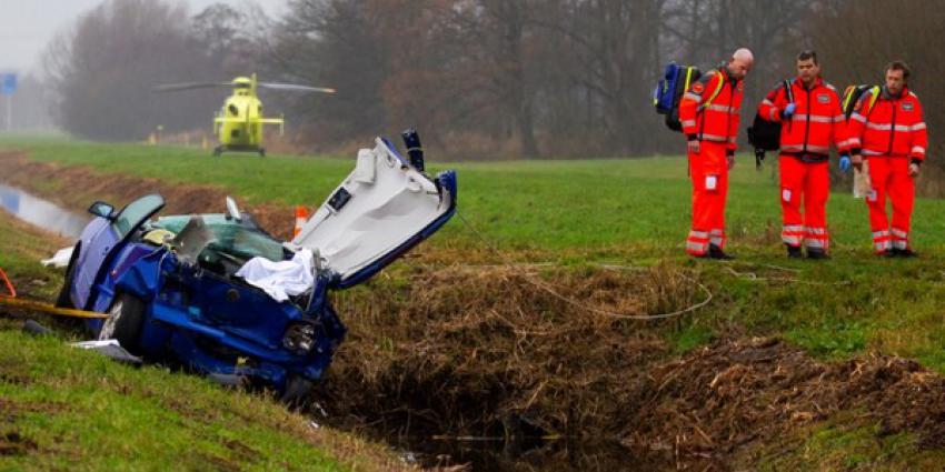 Man overleden bij zwaar ongeval op N210