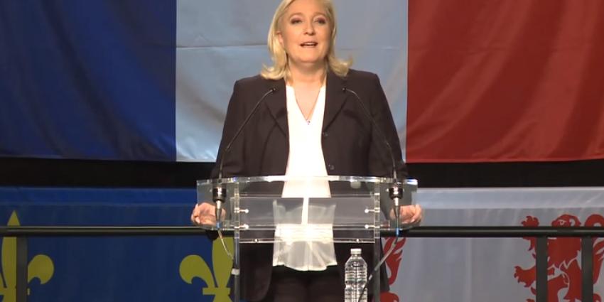 Front National van Marine Le Pen grootste partij van Frankrijk
