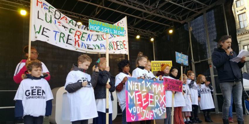 landelijke lerarenstaking, den haag, amsterdam, rotterdam