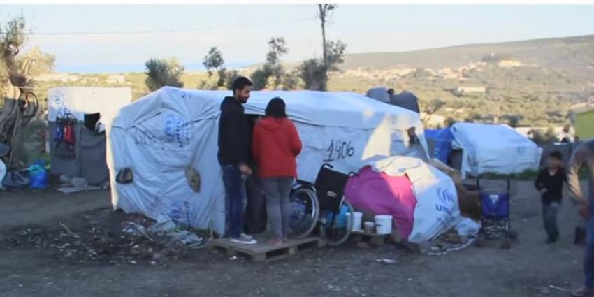 Griekenland: omstandigheden kamp Moria, Lesbos, onhoudbaar