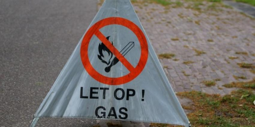 Gaslek op bedrijventerrein Rotterdam