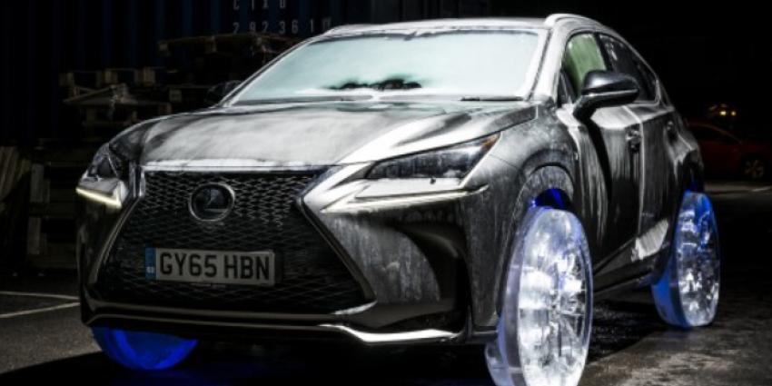 Lexus rijdt als eerste op echte ''winterbanden''