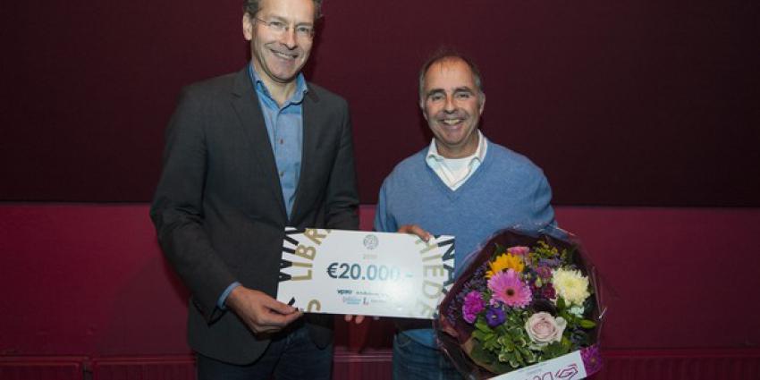 Frits van Oostrom wint  Libris Geschiedenis Prijs
