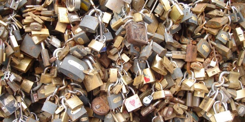 Foto van liefdesslotjes op Pont des Artes | Sxc