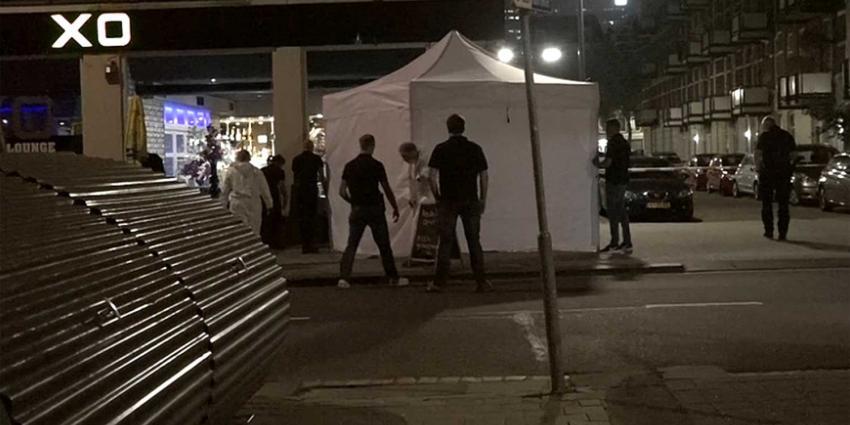 Man (25) aangehouden voor liquidatie op terras Rotterdam