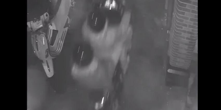 Camera legt liquidatieverdachten De Clerqstraat vast