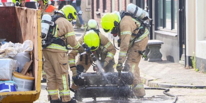 Woningen ontruimd na lekkende LPG tank
