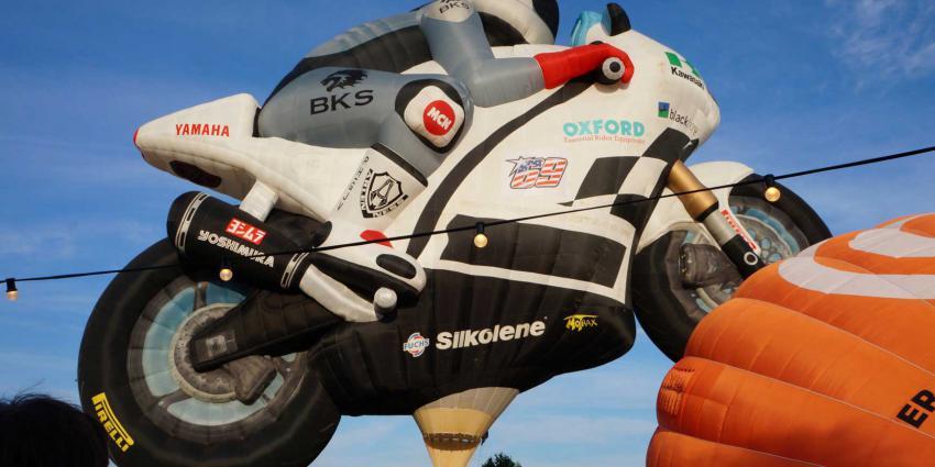 luchtballon-motorfiets