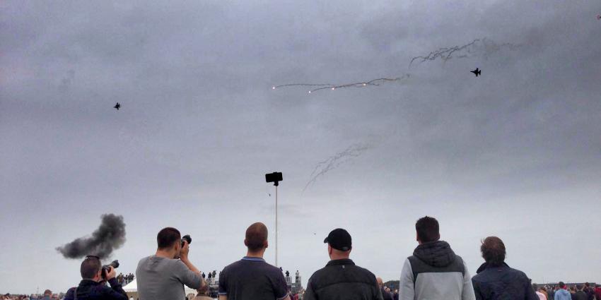 Luchtmachtdagen goed van start na crash Zwitserse luchtmacht