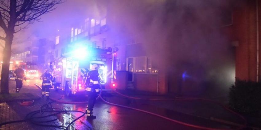 Woningen Utrecht ontruimd na brand in parkeergarage